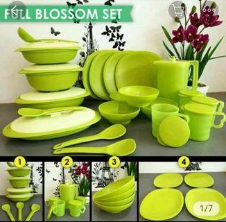 Blossom set tupperware