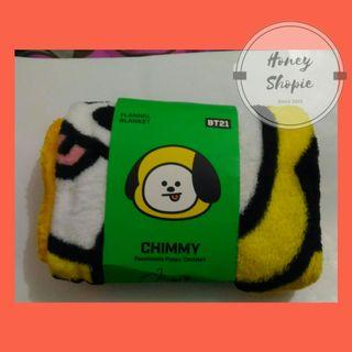 Blanket BT21 Chimmy vers