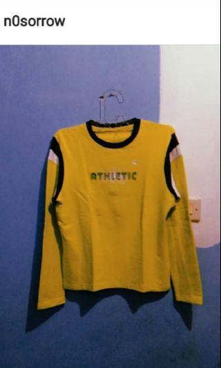 Kaos sport wear lime (S)
