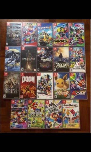 (Rental) Nintendo Switch AAA Games