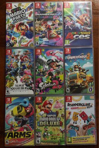 (Rental) Nintendo Switch AAA Multiplayer Games