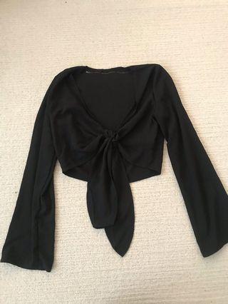 Black tip top