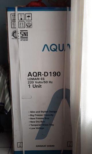 Kulkas Baru Merk Aqua AQR-D190