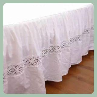 #典雅床裙枕袋   Elegant Bed Skirt / Pillow Case