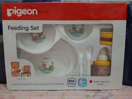 Pigeon Feeding Set LARGE with Training Cup