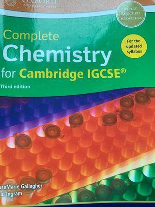 IGCSE CHEMISTRY COURSEBOOK