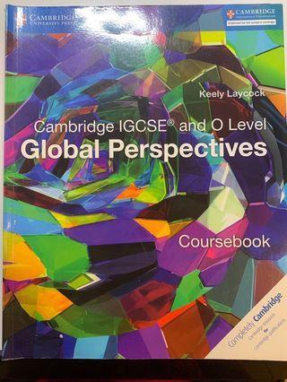 CAMBRIDGE IGCSE GLOBAL PERSPECTIVES COURSE BOOK