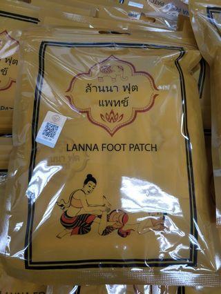 泰國足貼一包10片