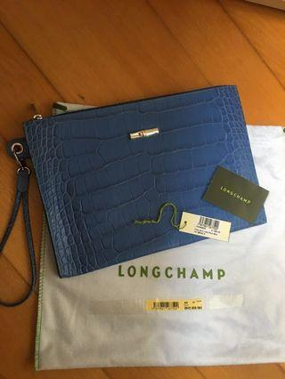 Long champ cutch bag (summer choice)- 100 %new