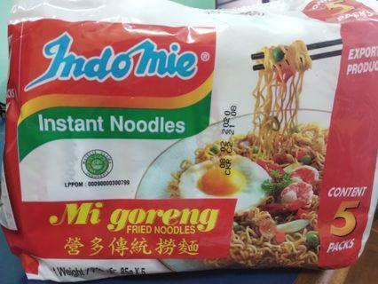 Indomie noodles 5pct (5X5=25pcs)40