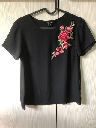 Rose black top #MGAG101 #JuneToGo