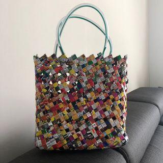 💯 [Handmade] Tote Bag / Basket #JuneToGo