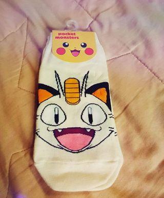 Meowth Pokemon Sock - Free Size