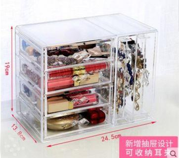 Acrylic Cosmetics Organiser / Accessories Organizer / Makeup Organiser