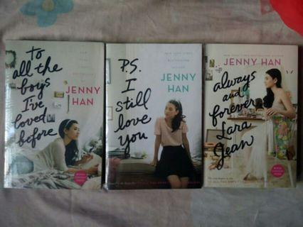 To All The Boys I've Loved Before book set