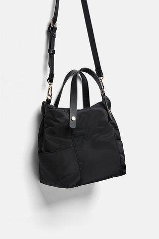 Zara small nylon bag