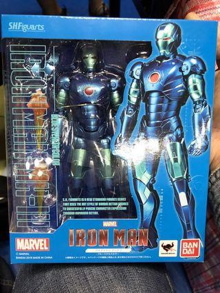 S.H.Figuarts Ironman Mark 3 Stealth Blue Tamashi Comic Con 藍色會場特別版