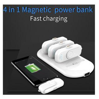 Magnetic Powerbank (4 in 1)