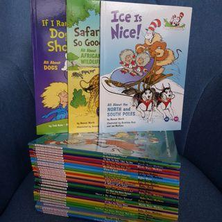 🚚 New stocks - Dr Seuss Cat in the Hat Learning Library (Full series)