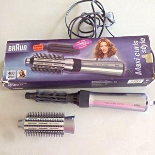 Braun Hair Curler Styler Maxi Curls and Style #MRTHougang