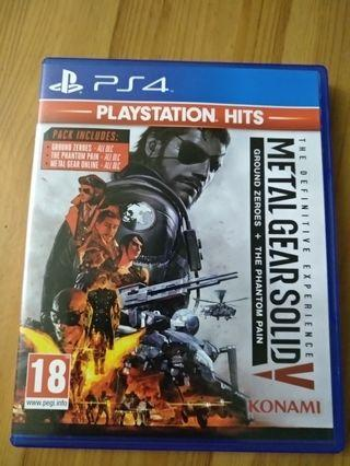 PS 4 Metal Gear Solid V The Definitive Experience