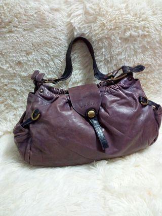 Original hogan leather shoulder bag