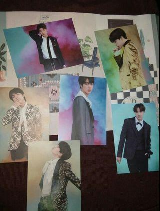 BTS VT official photocards