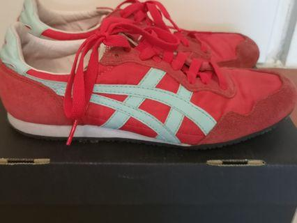 Onitsuka Tiger Fiery Red/Blue Tint
