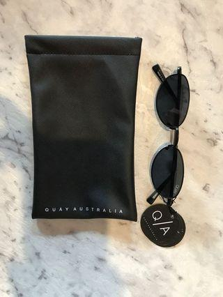 Quay Australia Sunglasses. Black.