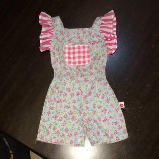 🚚 Oobi Kids Romper suit ( Light Blue Pink Flower Checkered chequered Strips Baby Infant Kid Toddler )