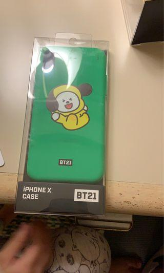 bt21 chimmy iphone xs official phonecase