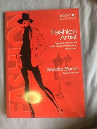 Fashion artist book