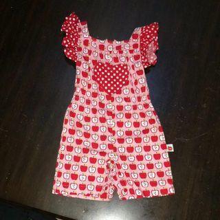 🚚 Oobi Kids Romper suit ( Red Pink Apple Heart Polka Dots Baby Infant Kid Toddler )