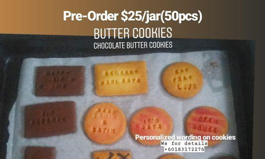 Butter Cookies or Chocolate butter cookies