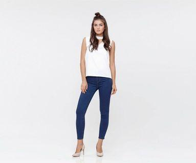 Hellolilo Dark Blue Classic Jeggings
