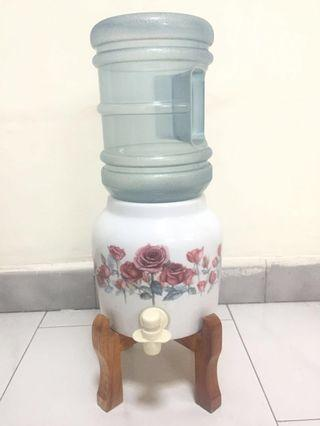 Floral Water Dispenser