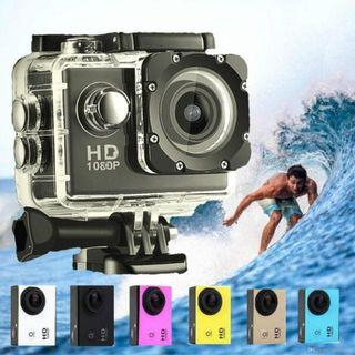 Full HD Sport camera with waterproof -White