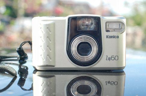 Konica Z-up 60 35mm Film camera for repair.