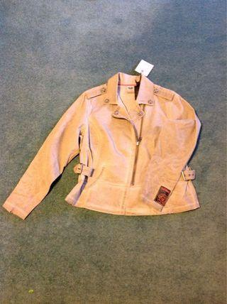 Harley Davidson casual biker jacket. Tan colour. Bought wrong size. $50. Never worn.