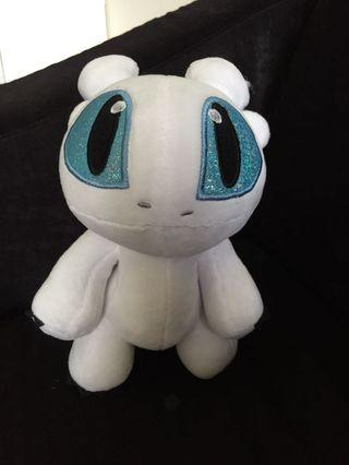Light Fury How To Train Your Dragon Soft Plush Toy