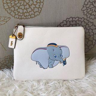 Coach Dumbo Pouch Leather Pouch