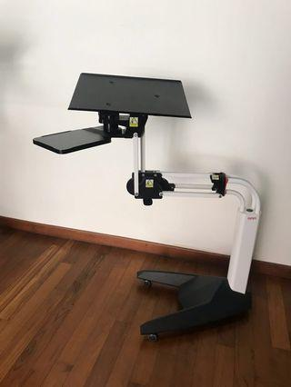Laptop Stand with wheels (for heavy duty)