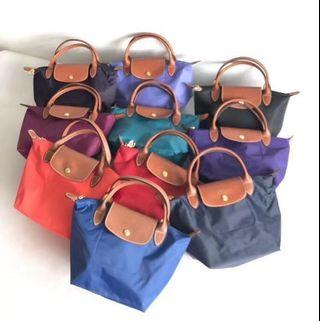 Classic small short handle longchamp
