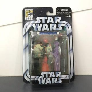 Star Wars SDCC 2005 Exclusive Holographic Princess Leia