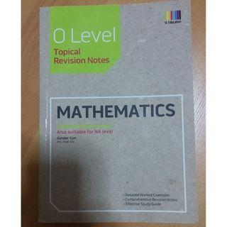 GCE 'O' & 'N' Level Mathematics Topical Revision Notes
