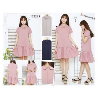 Collar Dress 2227