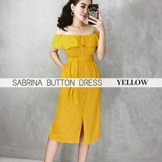 Sabrina button dress