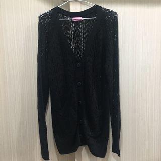 🚚 FFFFF 黑色針織外套
