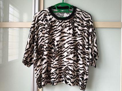 Topshop Leopard Print Blouse #MGAG101