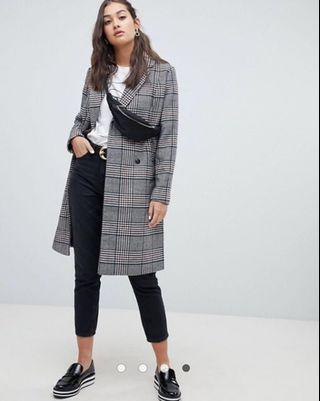 BNWT Only Check Coat